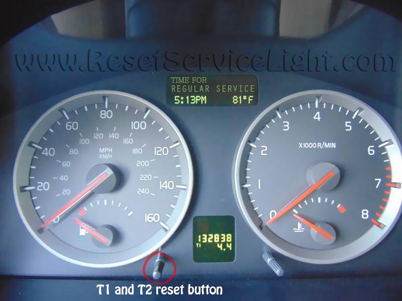 Reset time for regular service Volvo V50 – Reset service light, reset oil life, maintenance ...