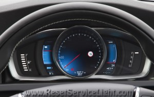 Turn off maintenance light Volvo V60 Cross Country
