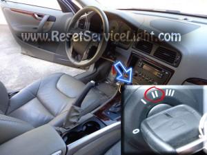 Turn off oil light Volvo XC70 Mark 2 2000-2007