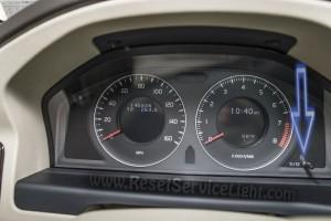 Reset maintenance service Volvo V70 3 generation
