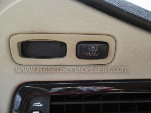Reset maintenance warning light Volvo V70 3