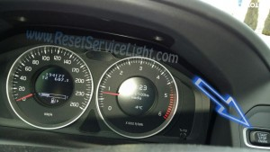 Reset service light Volvo XC60 2008-2013