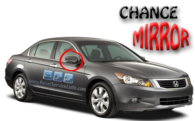How to replace the right mirror on a Honda Accord LX 2008-2010
