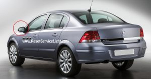 DIY, replace the glass of the left mirror on Opel Astra H 2004-2010