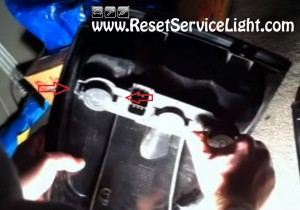 how to service the light bulbs on Chrysler T&C 2002