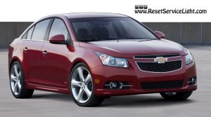 Change the air filter on Chevrolet Cruze made between 2008 and 2015