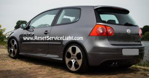 How to replace the glass of the right mirror on VW Rabbit Mk5