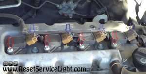 replace the ignition coils on Toyota Corolla