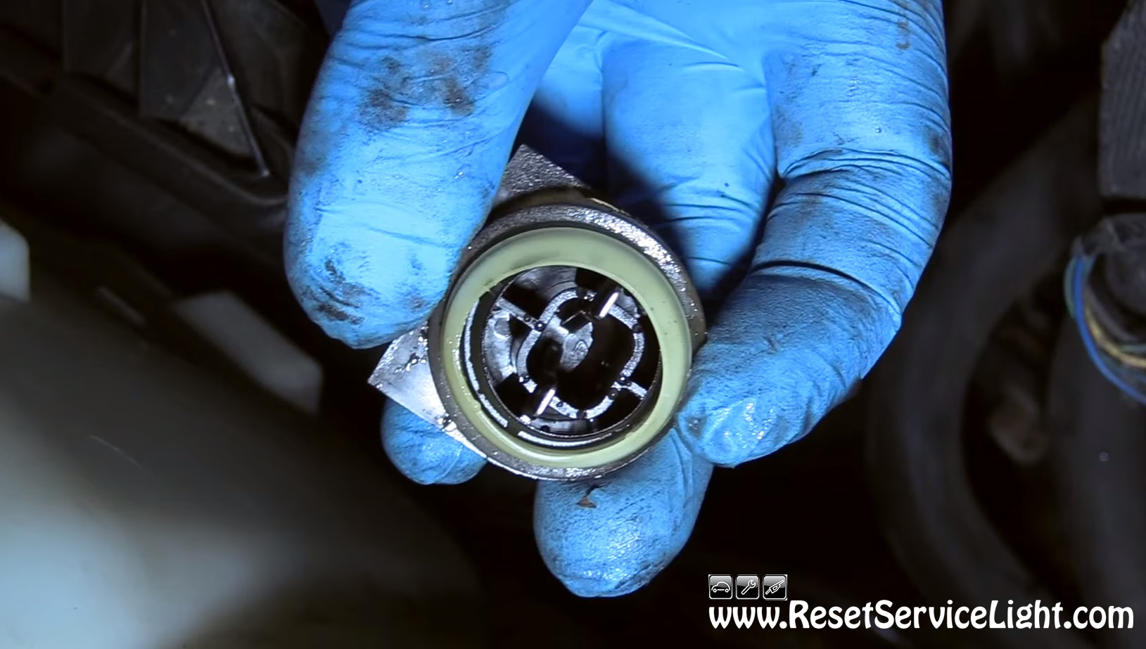 how to reset oil change light on dodge ram