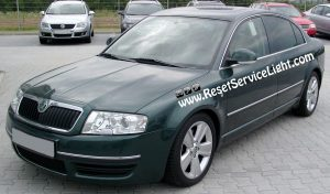 DIY, change the glass of the left side mirror on Skoda Superb 2001-2008