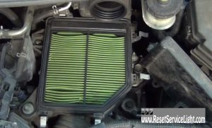 replace the air filter on honda Civic 2006-2011