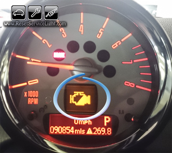 Reset Service Light Indicator Mini Cooper Cubman Reset