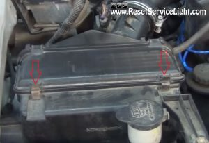 remove-the-clamps-holding-the-lid-of-the-air-box-on-toyota-tacoma
