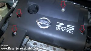 remove-the-engine-cover-on-nissan-altima-2003