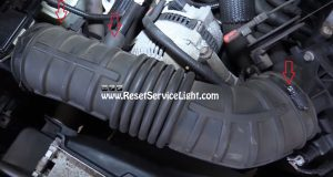 remove-the-collars-holding-the-air-intake-hose-on-ford-ranger-2001
