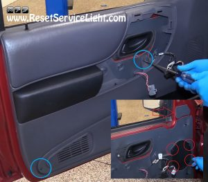 remove-the-front-door-speaker-on-ford-ranger-1995-2005
