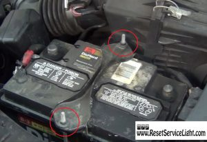 remove-the-bracket-holding-the-battery-on-ford-escape-2000-2006