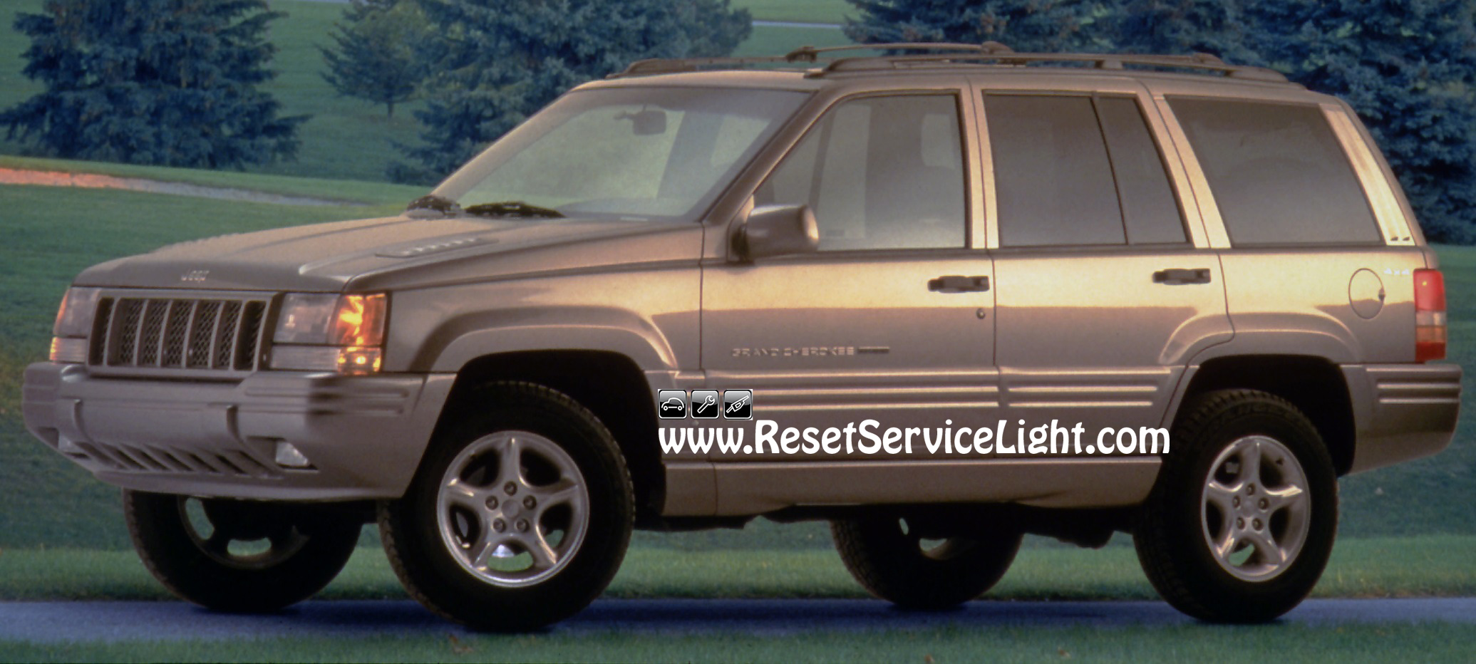 how to change the tail light assembly on jeep grand cherokee 1993 1998 reset service light. Black Bedroom Furniture Sets. Home Design Ideas