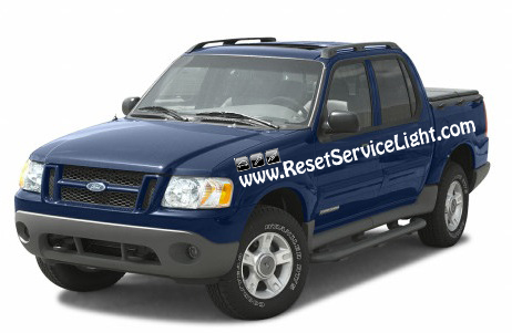 how to reset change oil light on ford escape