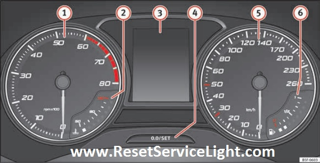 How to reset service Seat Ibiza 2015 inspection on
