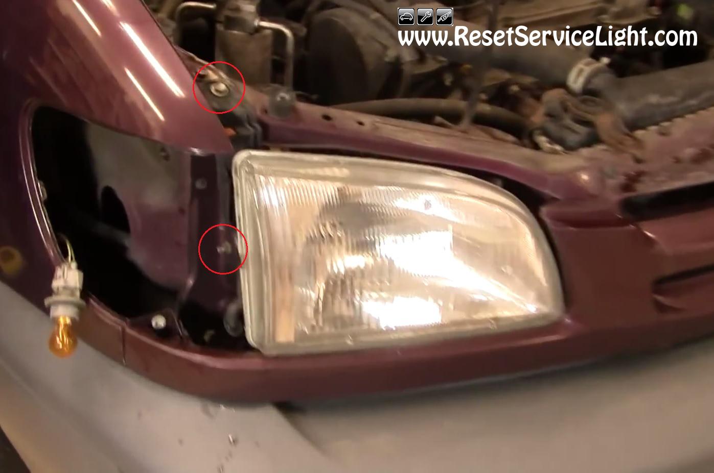 How To Reset Oil Change Light 2009 Toyota Corolla Youtube ...