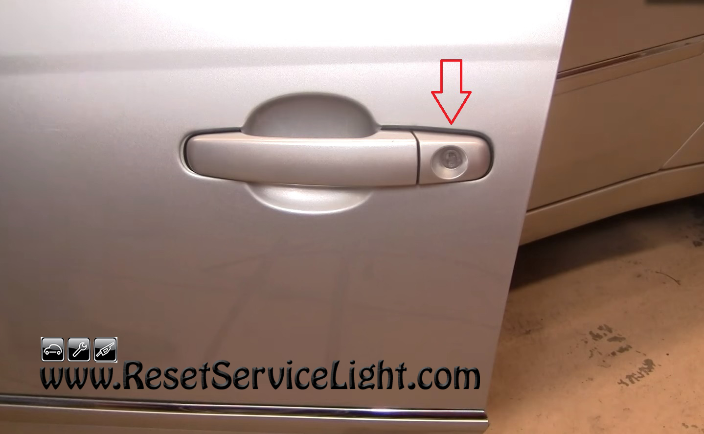 Diy Change The Exterior Door Handle On Chevy Malibu 2004 2008 Reset Service Light Reset Oil Life Maintenance Light Reset