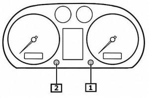 Reset service light indicator Audi A2