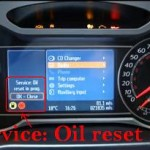 Reset oil service light Ford Mondeo