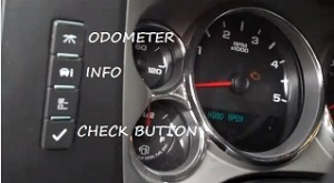 Reset oil service light indicator Chevrolet Truck Duramax