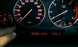 Reset oil service light indicator BMW X5, 2000 - 2006