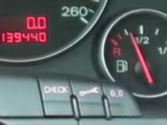 Reset service light indicator Audi A4