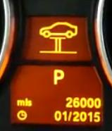 Reset service light indicator BMW E91