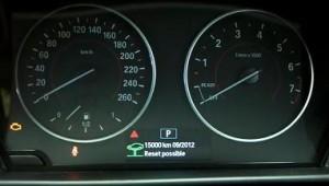 Reset service light BMW F20