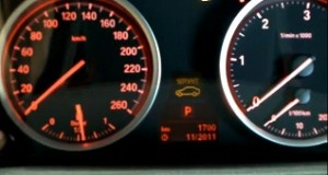 Reset service light indicator BMW X5, from years: 2006 - 2012