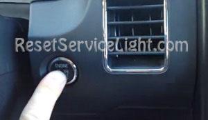 Engine start button Ford Flex