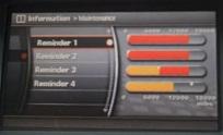 Reset maintenance reminder 1 Infiniti QX56