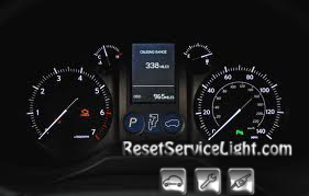 Reset oil service light Lexus GX 460