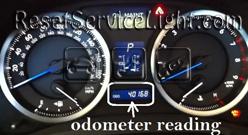 Reset oil service light Lexus IS 250