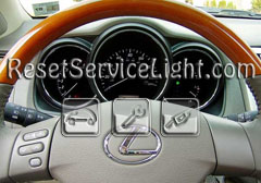 Reset oil service light Lexus RX 400h