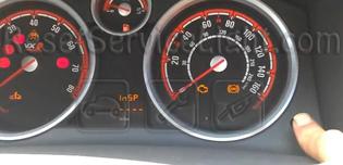 Reset InSP service light indicator Opel Astra H