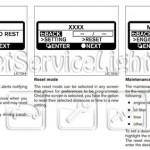 Reset oil service light Nissan Altima manual 2007-2012