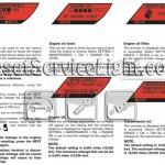 Reset oil service light Nissan GT-R manual 2009-2012