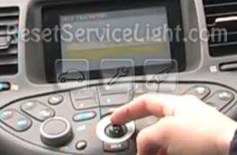 Reset service indicator Nissan Primera