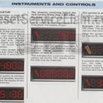 Reset service indicator Peugeot 2D 206 CC manual