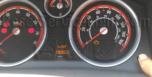 Reset service light Opel Astra Classic III
