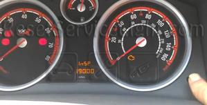Reset service light Opel Astra H