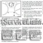 Reset service light indicator Nissan Rogue manual 2010