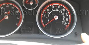Reset service light indicator Opel Astra Classic III