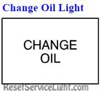 Reset change oil light Pontiac Grand AM