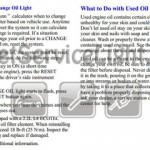 Reset oil service light Pontiac Grand AM 2002